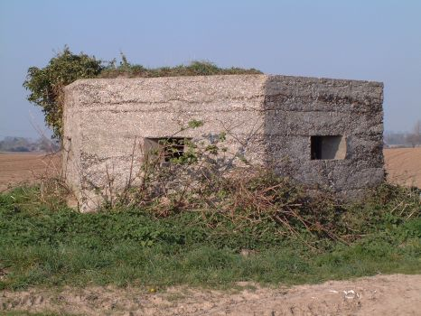 pill box near Upton